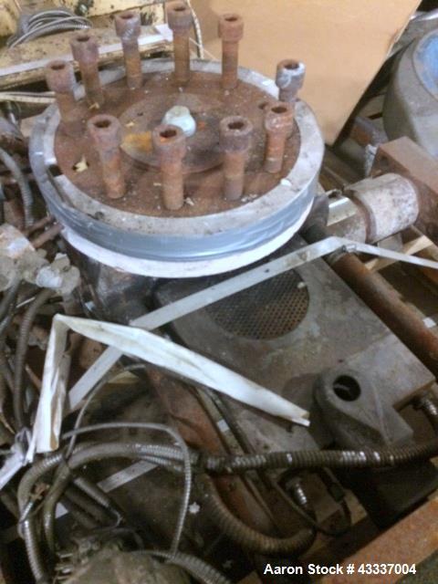 Used- Beringer Hydraulic Slide Plate Screen Changer, Model 600