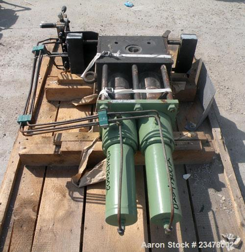 Used- Kreyenborg Continuous Screen Changer, Type K-SWE-100-88/P. Approximate screen diameter 76.3mm, active filtration area ...