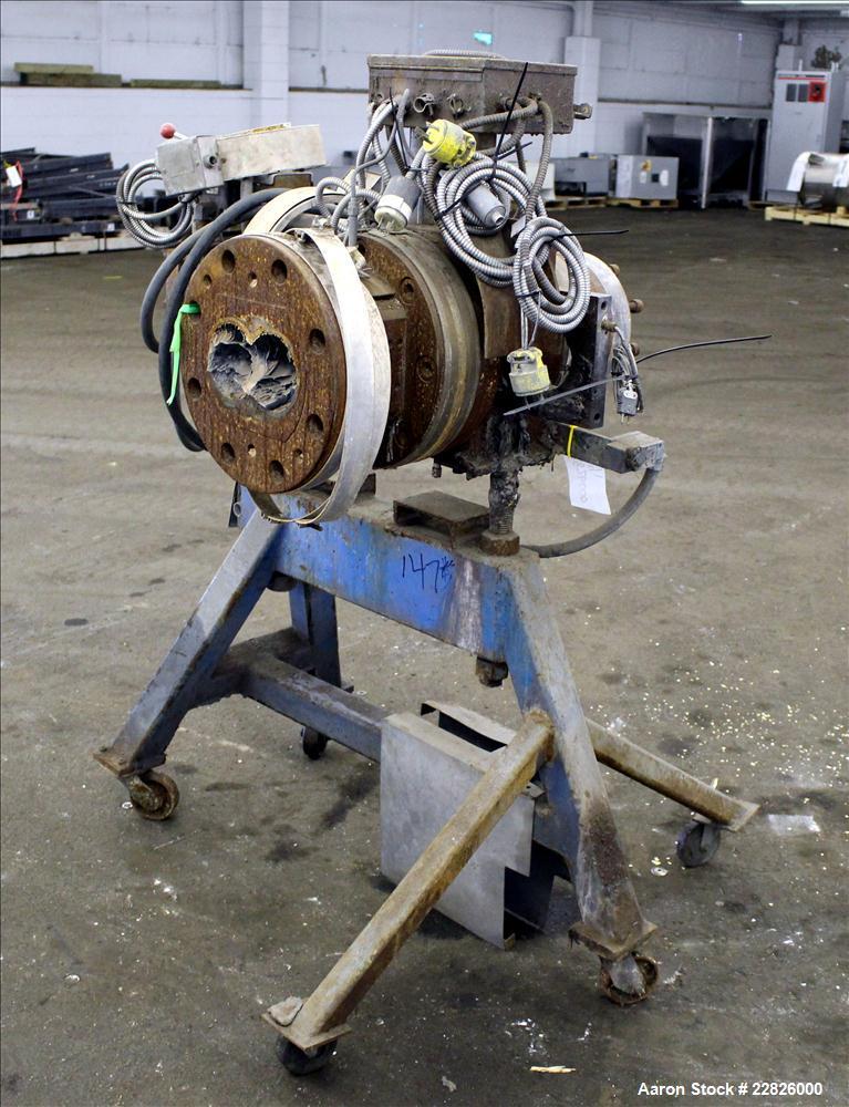 "Used- MGB 4-1/2"" Hydraulic Screen Changer, Model 4500"