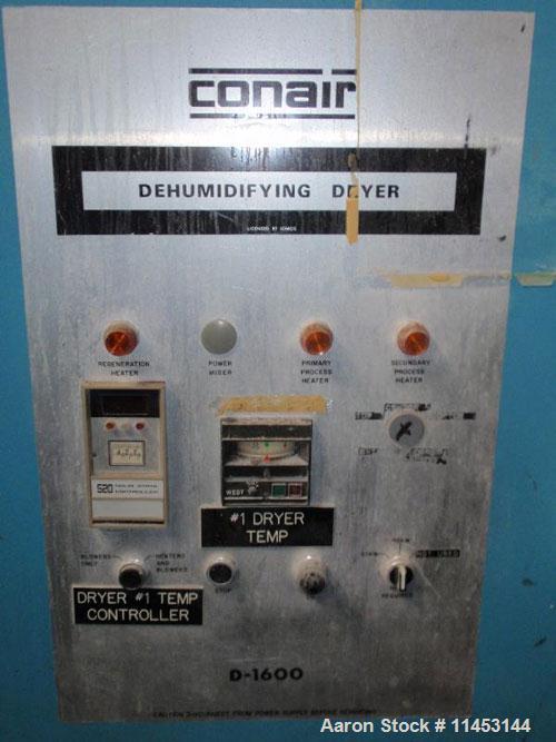 Used-Conair Dehumidifying Hopper Dryer, model 18001001