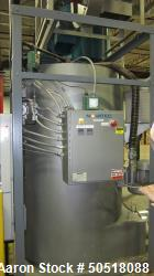 Used-Novatec Natural Gas fired Dryer/Crystallizers, Model GFH-2500, S/N 9258-0166, 460 Volt, 3 Phase, 60 Hz. 5.3 KVA, 6.6 Am...