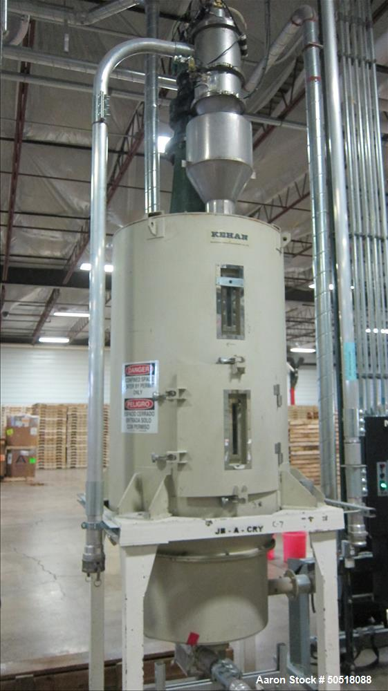 Used- Novatec Natural Gas Fired Dryer / Crystallizers, Model GFH-2500.