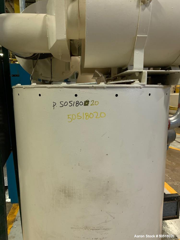 Used-Novatec Dryer Model MPC-1000, SN 3-3281-0188, 460 Volt, 3 Phase, 60 Hz, 129 Amps. Siemens Simatic Touch Screen Control ...