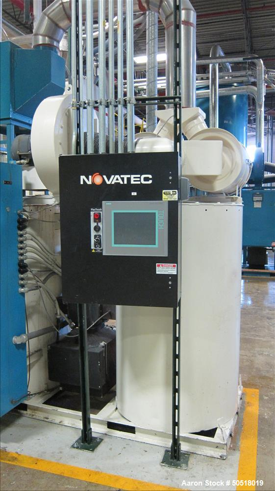 Used-Novatec Dryer SN 33056, Siemens Simatic Multi Panel Touch Screen Control Panel.  115 Volts