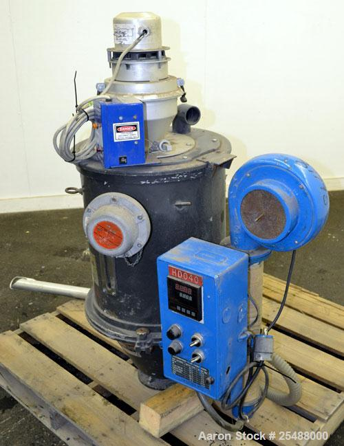 Used- Carbon Steel TEW Hopper-Dryer, Model THD-50