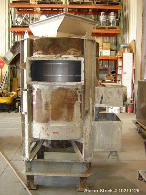 Used-Gala Pellet Dryer, model 103BF/H. Rotation speed 380. Manufactured Iin 1978. Motor 7.5 hp, 1750 rpm, 213T frame, TE enc...