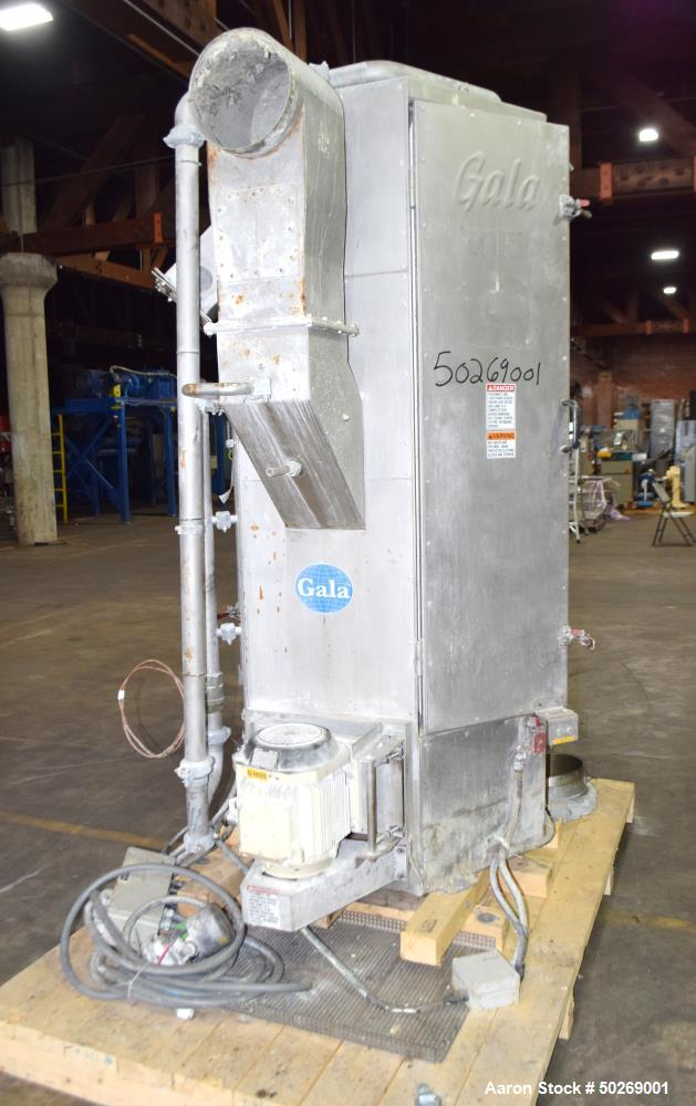 Used- Gala Industries Centrifugal Spin Dryer, Model 16.3 ECLN-DW, Stainless Stee