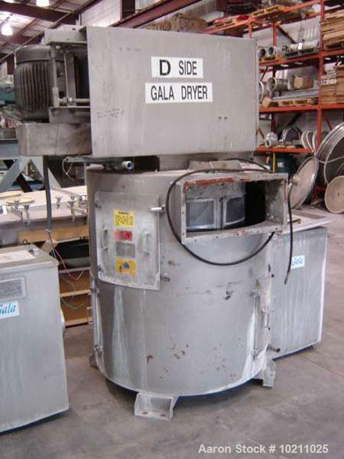 "Used-Gala Dryer Model 32.2BF. Unit is approximately 8' tall as shown in photos. Overall shipping width is 68"". Motor is 7.5 ..."