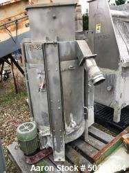 "Used Gala Spin Dryer Model 52DWS, serial #780624.  Driven by a 5 hp motor.  Includes 20"" x 30"" stainless steel pre-screen wi..."