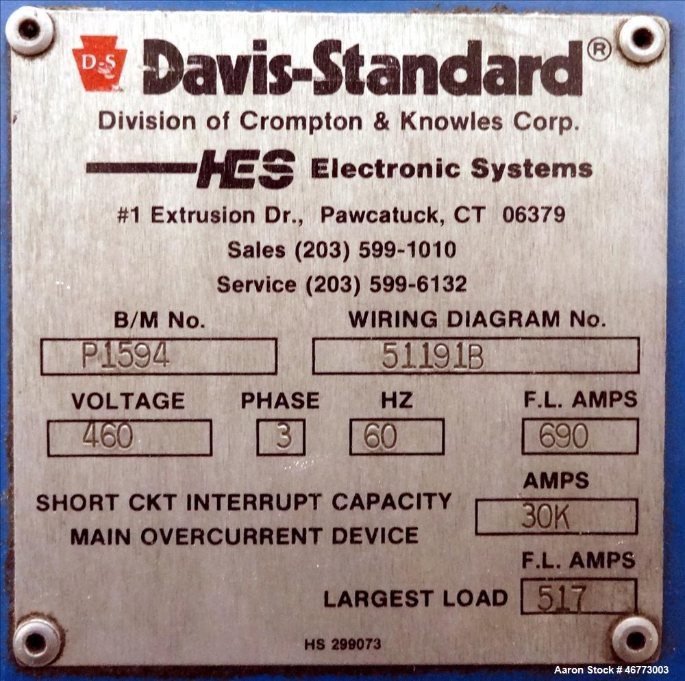 Used General Electric 400hp Dc Motor 3 500 Volt Shunt Wiring Diagram 1150 1500