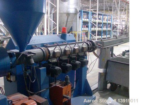 Used- Theysohn Rubber Seal Extrusion Line