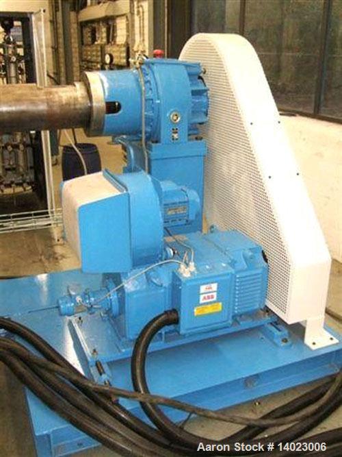 "Used- Battenfeld 1-75-30B single screw extruder, screw diameter 2.95"" (75 mm), L/D 30, capacity 440 lbs/h (200 kg/h), 89 HP/..."