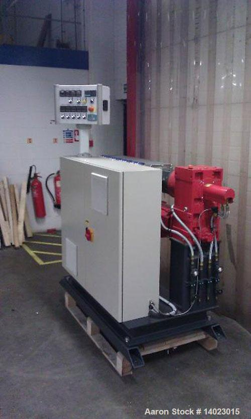 """Used-BMHT4525 Boston Mathews Single Screw Extruder, 1.7"""" (45mm), L/D 25:1, main motor 24HP (18 kW), control cabinet, Eurothe..."""