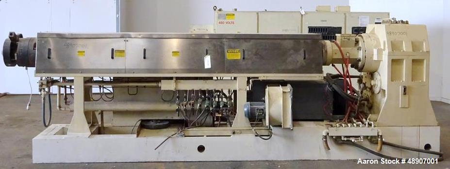 "Used- OMV 4.5"" Single Screw Extruder."