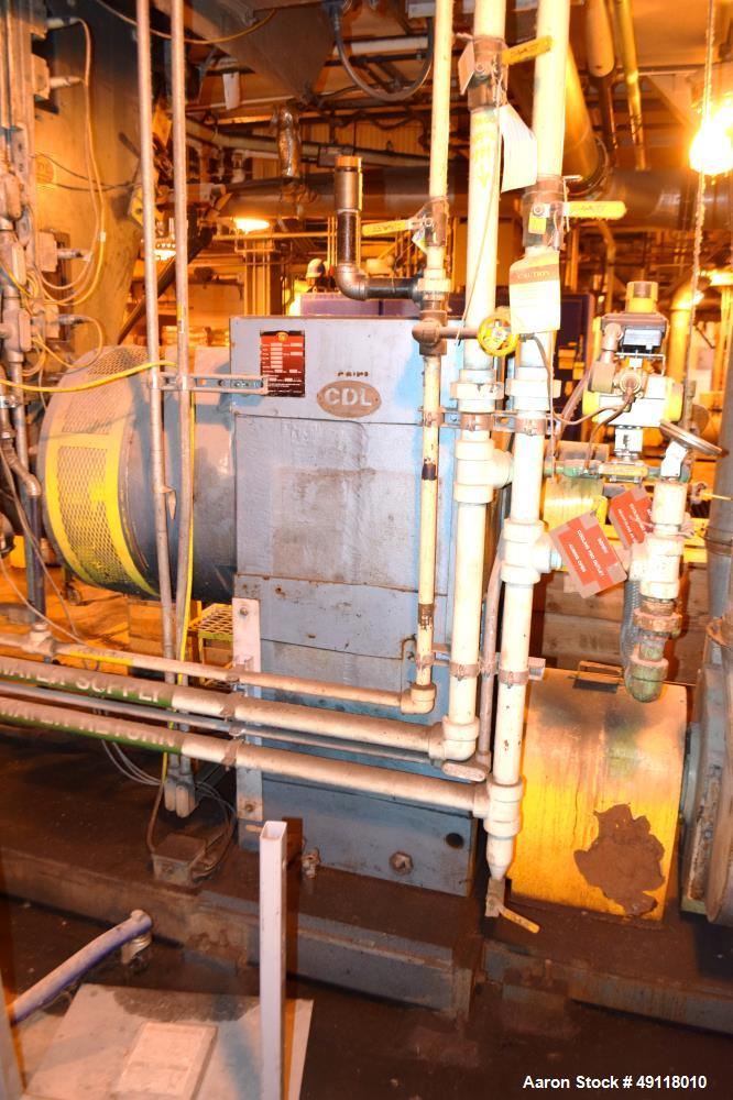 "Used- Crown / CDL Technology 12"" Single Screw Dump Extruder"