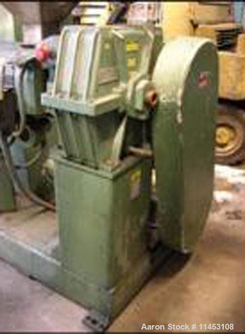 """Used-1.5"""" Davis Standard Extruder, model 15IN20. 24:1 L/D, electrically heated, air cooled, jacketed feed section, 15 hp DC ..."""