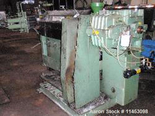 Used-Davis Standard Thermatic Extruder, model 25IN25