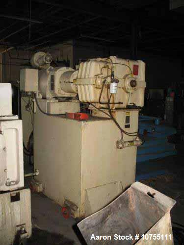 "Used- Davis Standard 3-1/2"" Single Screw Extruder, Model 35IN35"