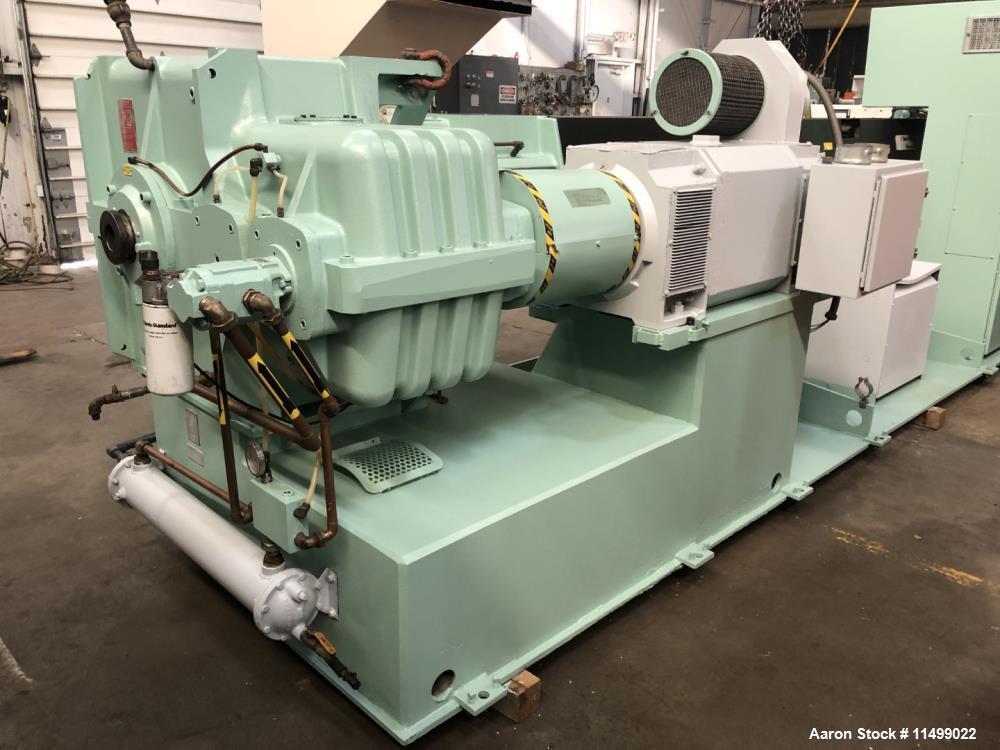 "Used- 6"" Davis Standard Extruder, Model 60IN60TPIH"