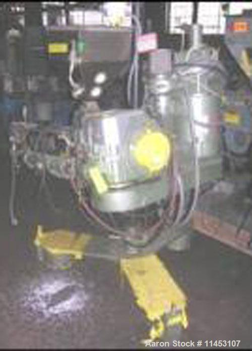 """Used-1.5"""" Davis Standard Extruder, model DS-15S. 24:1 L/D, electrically heated, air cooled, jacketed feed with hopper, 15 hp..."""