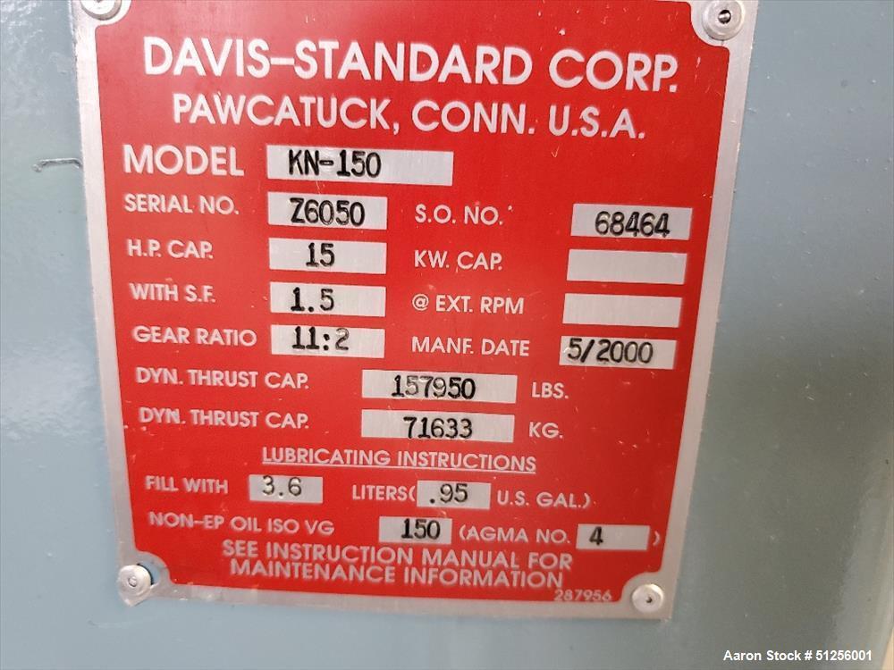 Used- Davis Standard Lab Line