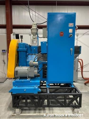"Used- Davis Standard 2-1/2"" Single Screw Extruder"