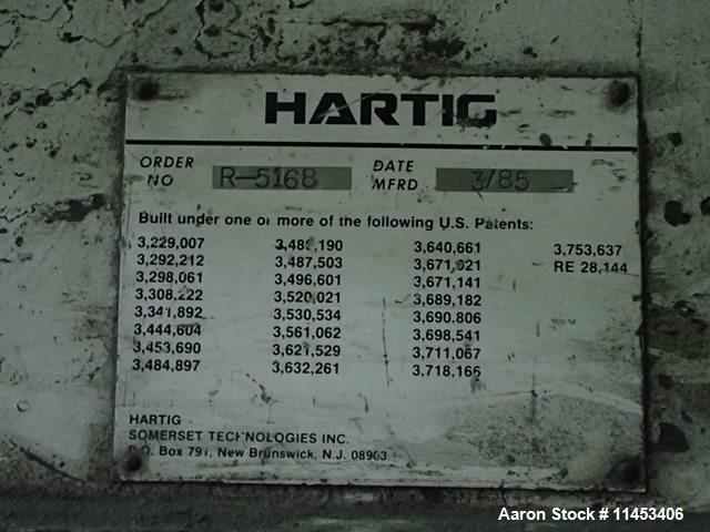 "Used-8"" Hartig Extruder"