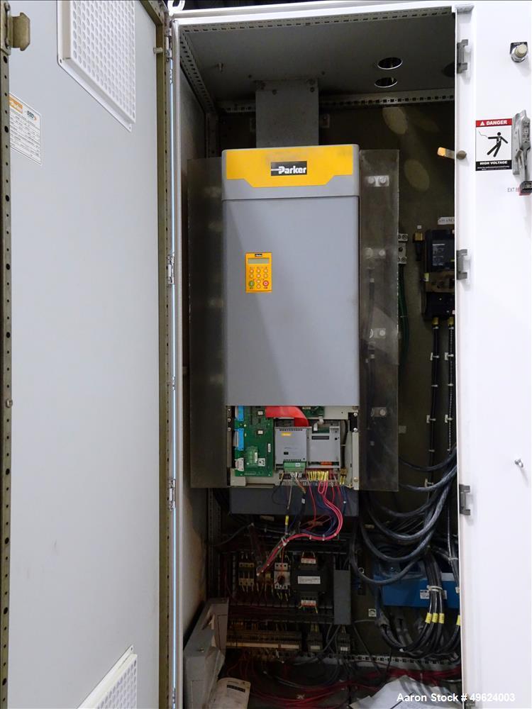 "Used- HPM 4.5"" Single Screw Extruder, Model 4.5-TM-III-30:1"