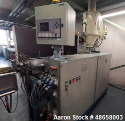 "Used- AKMA 2.34"" (45 mm) Single Screw Extruder"