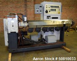 "Used- Milacron 3"" Single Screw Extruder, Model PAK300"