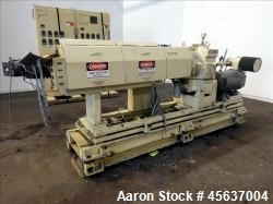 "Used- Graham Engineering 2-1/2"" Single Screw Extruder"
