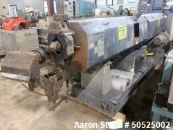 "Used- 4.5"" Merrit Vented Single Screw Extruder. 36/1 L/D"