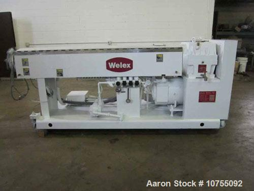 "Used-Welex Model 250 30D 2.5"" Extruder.30:1 L/D, 9.38:1 gearbox rated at 100 hp with a 1.25 service factor and 155 rpm outpu..."