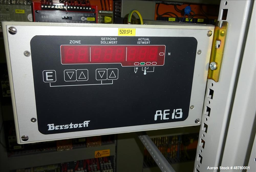Used- Berstorff 40mm Twin Screw Extruder, Model ZE 40/40A.