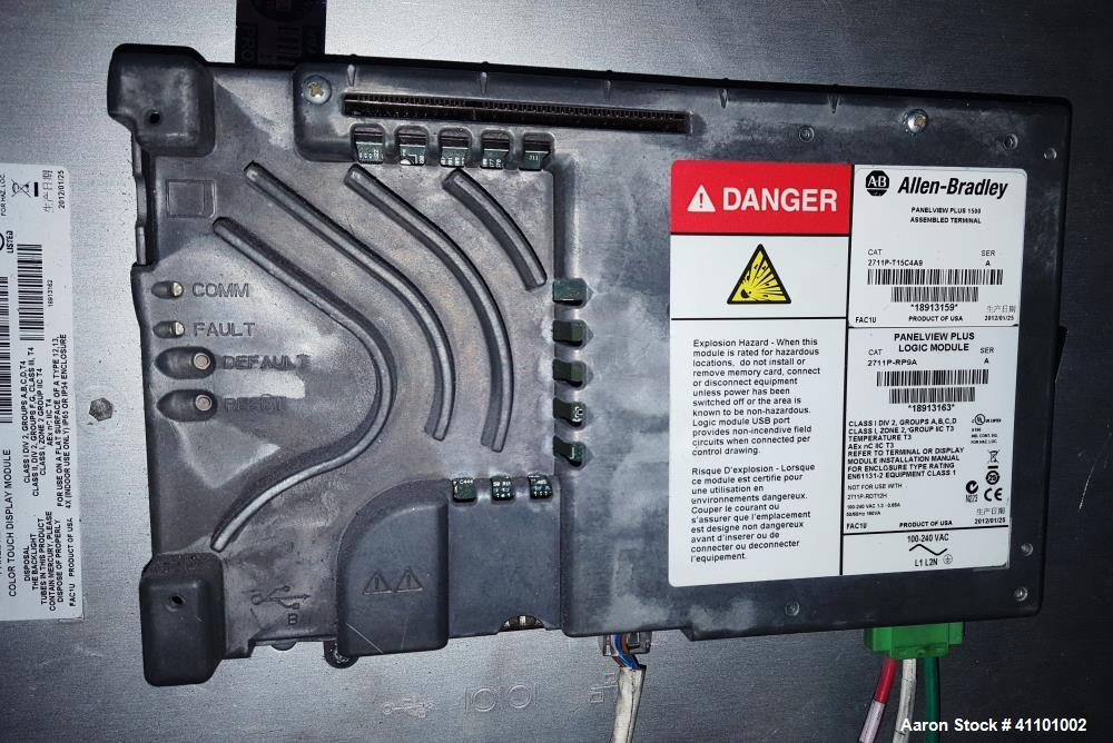 Used- Berstorff Twin Screw Extruder