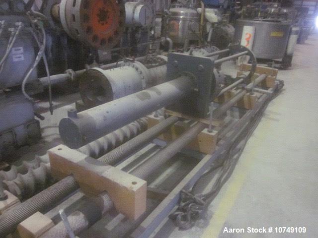Used- Berstorff Twin Screw Extruder, Model ZE180X28D.