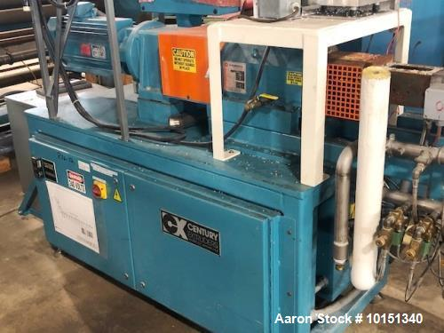 Used- 30mm Century Co-Rotating Twin Screw Extruder