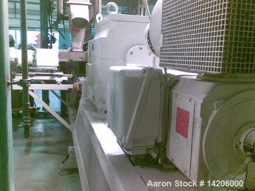 """Used-Compex PVC Compounding Line, type MPC 85/2, for up to 454 lbs (1000 kg) per hour PVC, 85 mm (3 1/3"""") diameter twin scre..."""