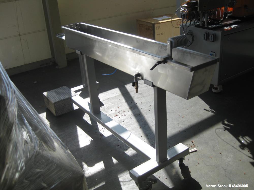Used- Leistritz Twin Screw Extruder, type ZSE18 MAXX-28D