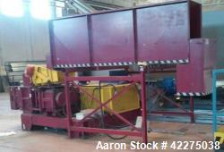 Used- Twin Screw Waste Material Processor, PE PP PS EPS ABS Mixed Plastics, RDF,