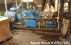 Used- Coperion Werner & Pfleiderer Twin Screw Extruder, Type ZSK58 Mega Compound
