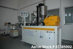 Used- Dr. Collin Extrusion Line. Consists of a pilot plant continuous granulation for studies on the process of extrusion of...