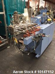 Krupp Werner & Pfleiderer, Type ZSK 25 WLE. 25 mm diameter screws. 28:1 L/D. Electrically heated, w...