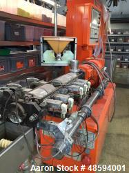 Used- Leistritz Twin-Screw Extruder, Type LSM 34 GG