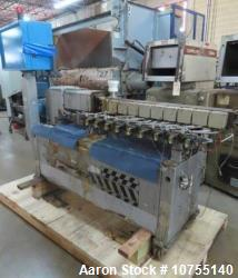 Used- Leistritz 27mm 40:1 Model Micro 27 40GL/40D Twin Screw Extruder