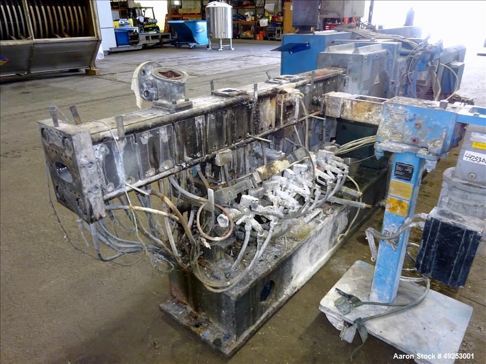 Used- Coperion Werner & Pfleiderer Twin Screw Extruder