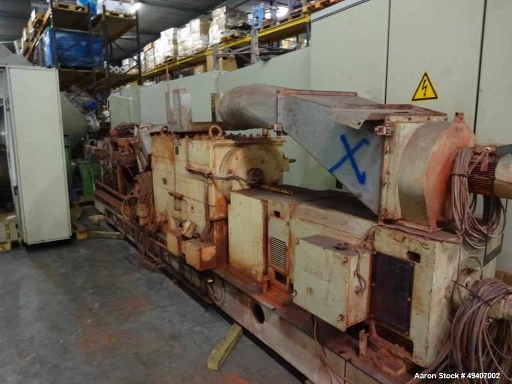 Used- Werner & Pfleiderer ZSK 92 F385E Twin Screw Extruder. 32:1 L/D. Co-rotating, 8 housing sections, electrically heated, ...