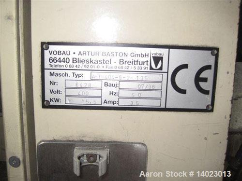 "Used-Krauss Maffei KMD 2-50 KK Conical Extruder.  Counter-rotating, screw diameter 2"" - 4"" (50 - 103 mm), screw length 41.7""..."