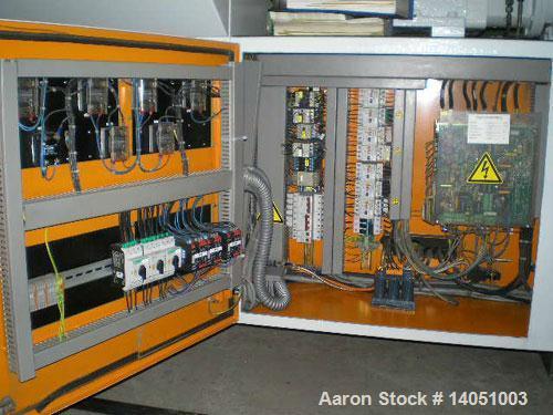 Used-Krauss Maffei KMD-2-50-KK Counter-Rotating Conical Twin Screw Extruder