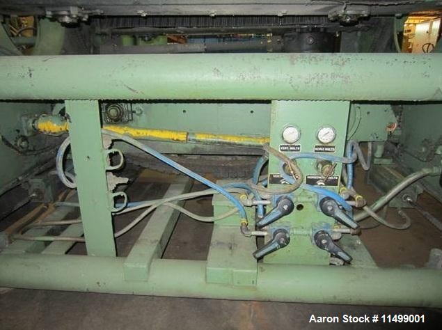 Unused-Used: Leistritz Twin Screw Extruder, Model LSM 34 GL. 34 mm counter rotating screw, 11 kw motor, air cooled, machine ...